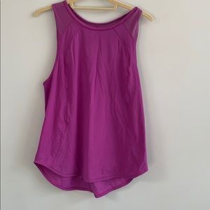 Lululemon pinkish berry color loose tank 8
